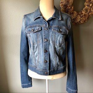 Jessica Simpson Size L Blue Jean Jacket